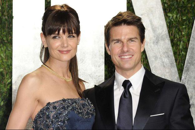 Katie Holmes et Tom Cruise aux Oscars en février 2012