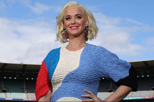 Katy Perry à Melbourne en mars 2020.
