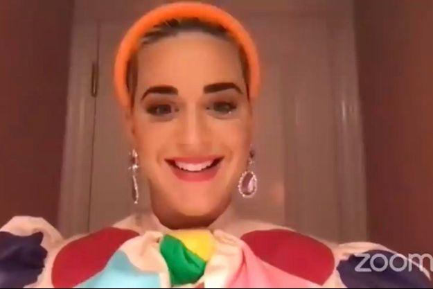 Katy Perry en août 2020.