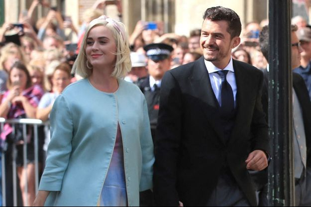 Katy Perry et Orlando Bloom à New York en août 2019.