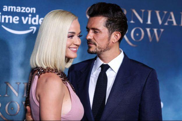 Katy Perry et Orlando Bloom en août 2019.