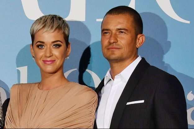 Katy Perry et Orlando Bloom en septembre 2018