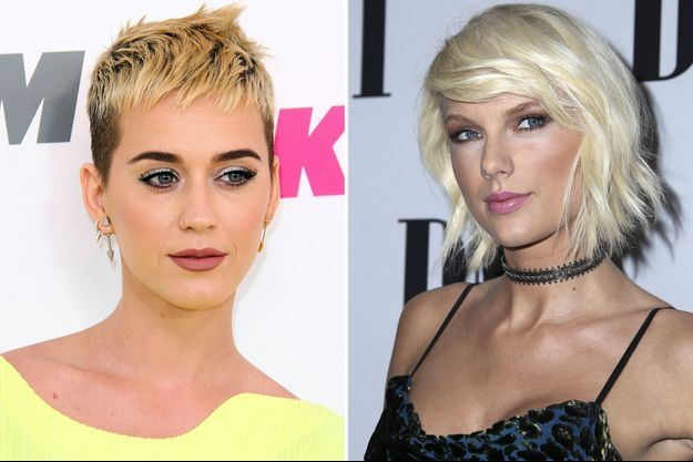 Katy Perry et Taylor Swift.