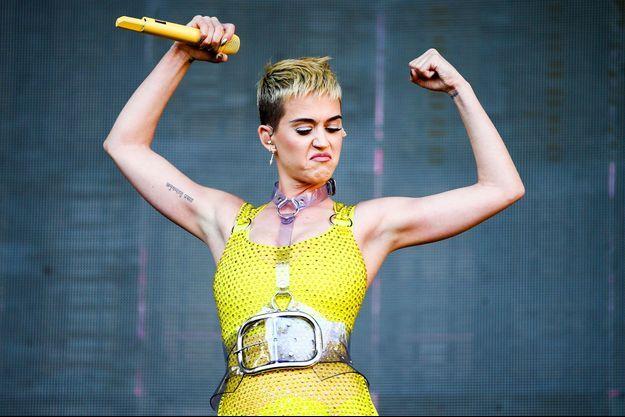 Katy Perry en Californie en mai 2017.