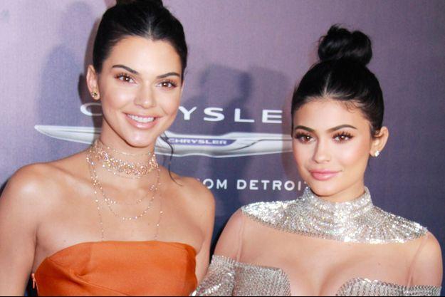 Kendall et Kylie, janvier 2017