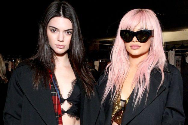 Kendall et Kylie Jenner à New York