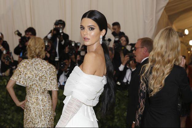 Kendall Jenner à New York, le 7 mai 2018