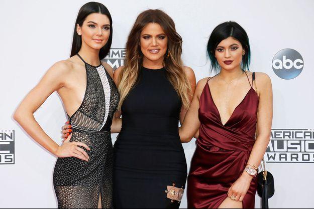 Kendall Jenner, Khloé Kardashian et Kylie Jenner en 2014.
