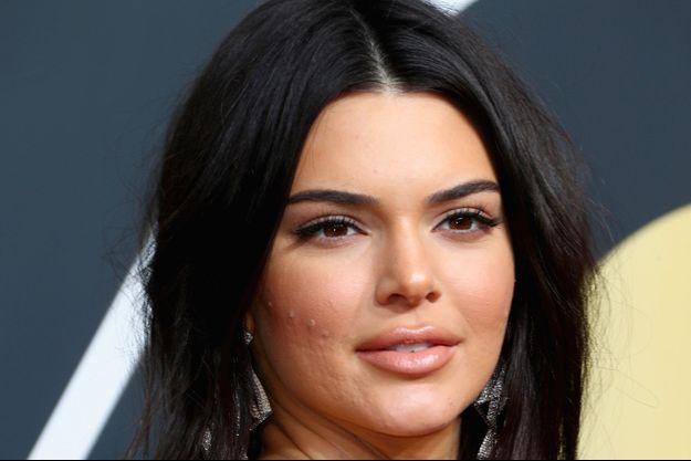 Kendall Jenner aux Golden Globes, janvier 2018