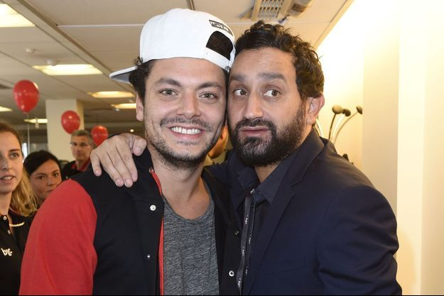 Kev Adams et Cyril Hanouna en 2015