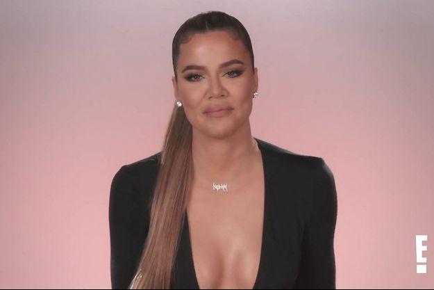 "Khloé Kardashian dans un épisode de ""L'incroyable famille Kardashian"""