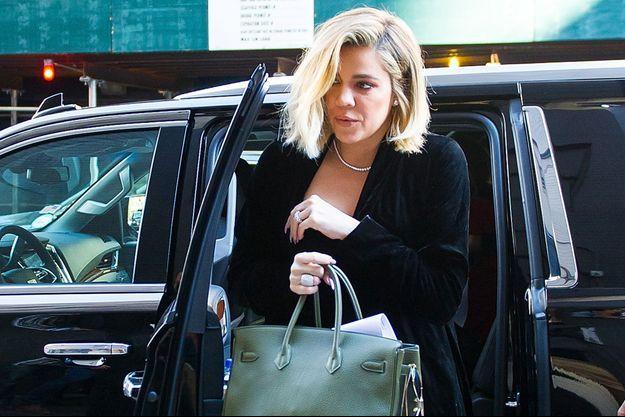 Khloé Kardashian en octobre 2017.