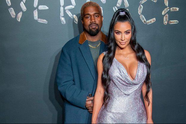 Kanye West et Kim Kardashian, décembre 2018