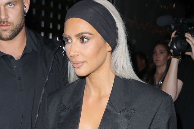 Kim Kardashian en février 2018