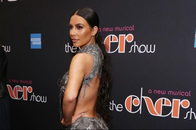 Kim Kardashian à New York, le 3 décembre 2018