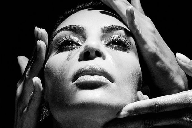 Kim Kardashian pour Balmain