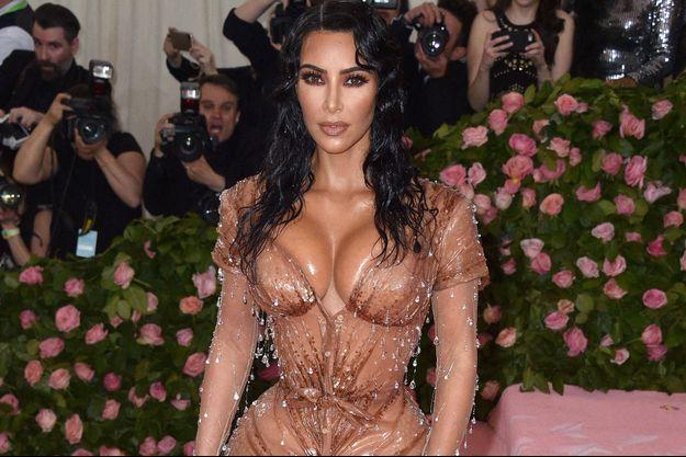 Kim Kardashian au gala du Met en mai 2019
