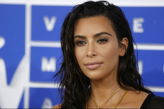 Kim Kardashian aux MTV Video Music Awards de New York, en août dernier.