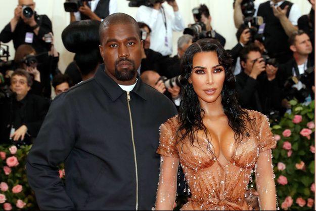 Kim Kardashian et Kanye West à New York, le 6 mai 2019
