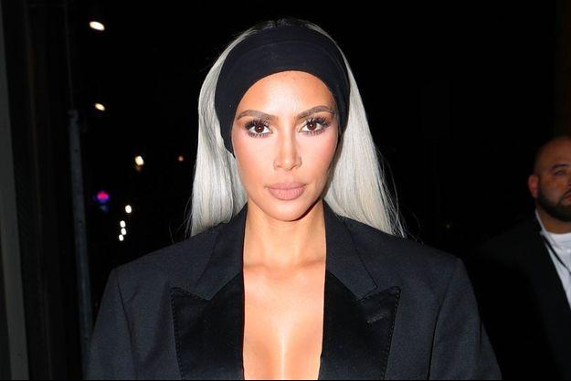 Kim Kardashian à Los Angeles le 24 février 2018