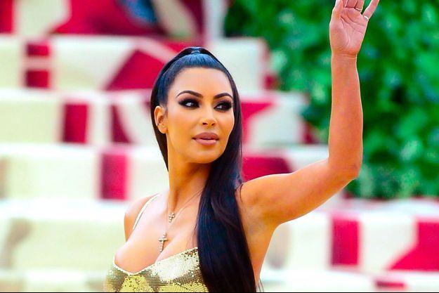 Kim Kardashian au MET Gala le 7 mai 2018