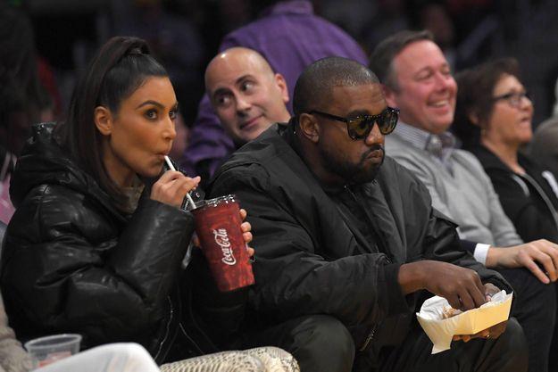 Le couple à un match des Lakers, le 13 janvier 2020, à Los Angeles.