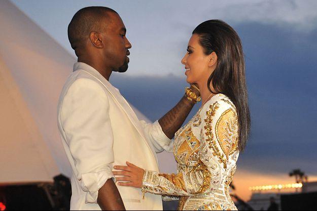 Kanye West et Kim Kardashian à Cannes en mai 2012