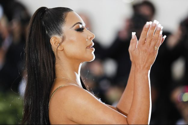 Kim Kardashian au Met Gala, mai 2018.