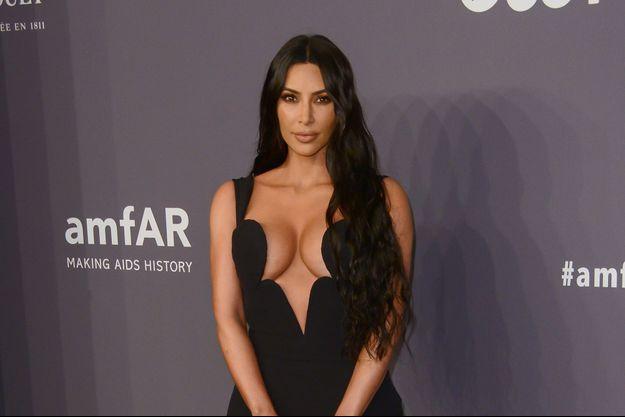 Kim Kardashian à New York, le 7 février 2019