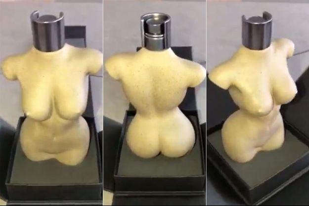 Le flacon du parfum de Kim Kardashian.