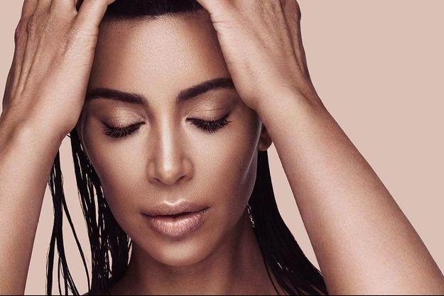 Kim Kardashian lance ce mercredi sa nouvelle ligne de make-up.