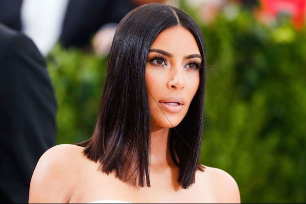 Kim Kardashian au Met Gala 2017