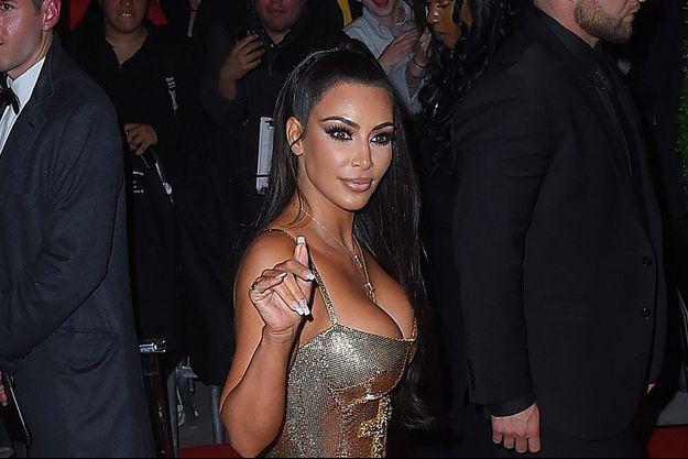 Kim Kardashian au Gala du Met en mai 2018.