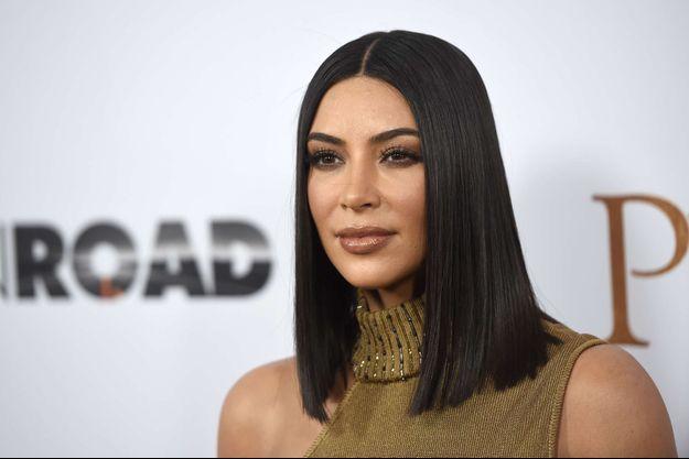 Kim Kardashian le 12 avril 2017 à Los Angeles.
