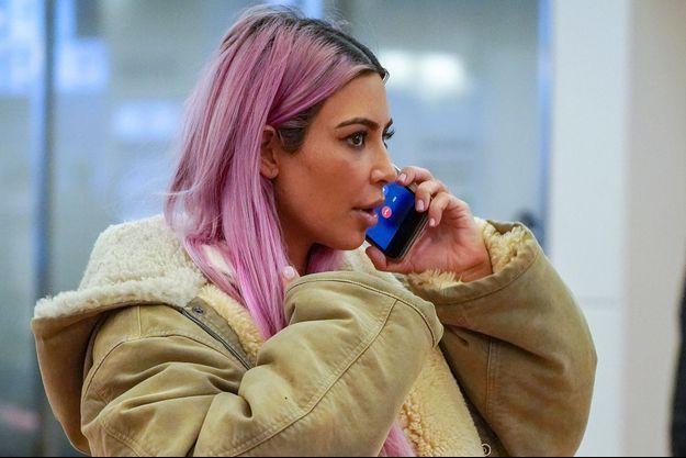 Kim Kardashian à Tokyo le 26 février