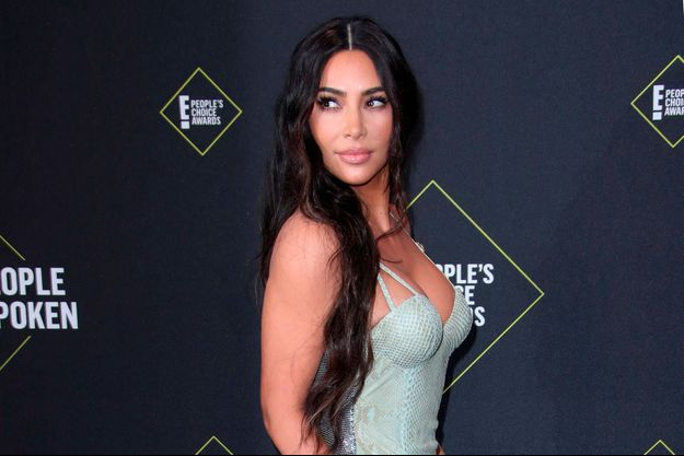 Kim Kardashian à Los Angeles en novembre 2019.
