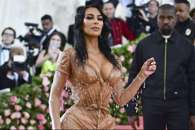 Kim Kardashian au Met Gala en mai 2019