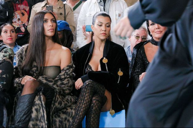 Kim Kardashian lors de la Fashion Week à Paris, septembre 2016.