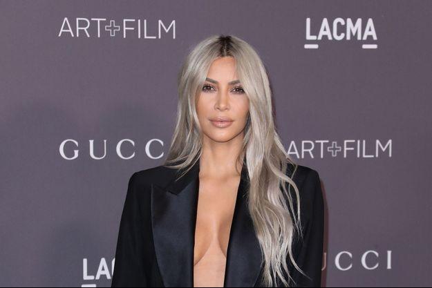 Kim Kardashian le 4 novembre 2017 à Los Angeles.