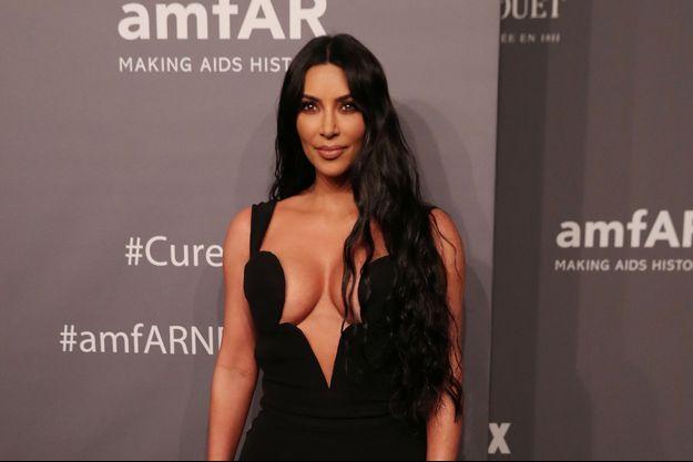 Kim Kardashian à New York, le 6 février 2019