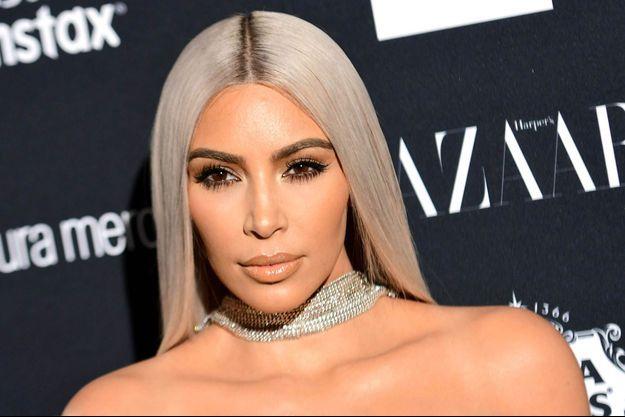 Kim Kardashian le 8 septembre 2017 à la Fashion Week de New York.
