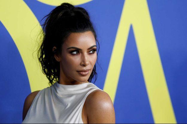 Kim Kardashian à New York en juin 2018.