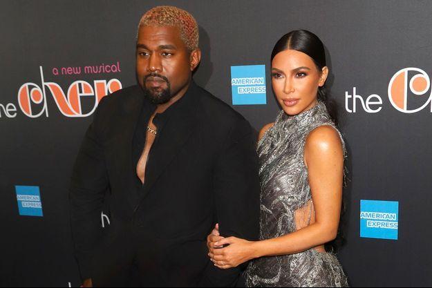 Kim Kardashian et Kanye West avec leurs enfants le 24 décembre 2018