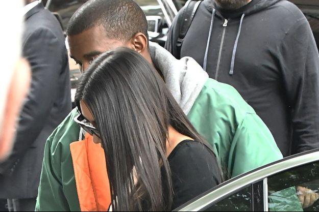 Kim Kardashian de retour à New York, le 3 octobre 2016.