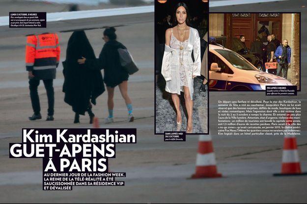 Kima Kardashian quitte Paris