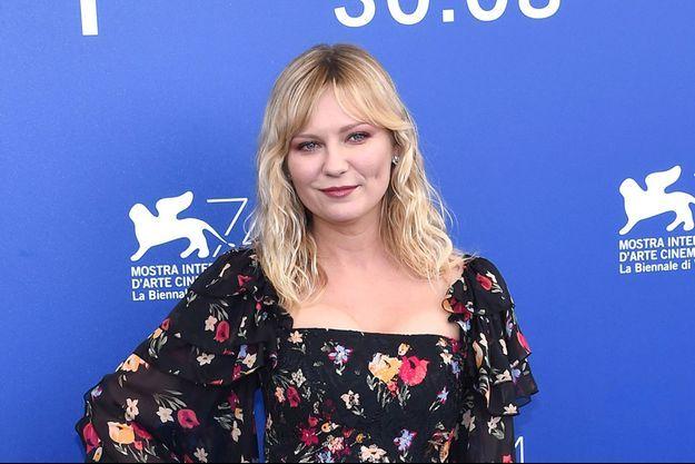 Kirsten Dunst, le 4 septembre 2017 à la Mostra de Venise.