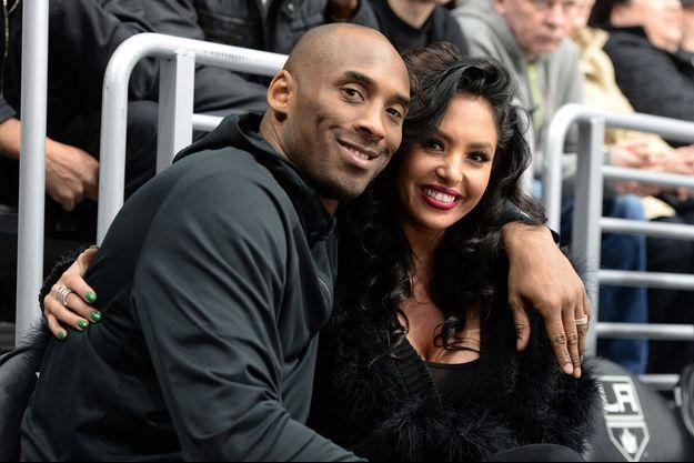 Kobe et Vanessa Bryant en 2016