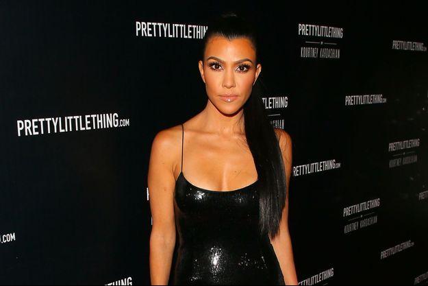Kourtney Kardashian à la soirée de lancement de sa collection avec PrettyLittleThing le 25 octobre 2017 à Los Angeles