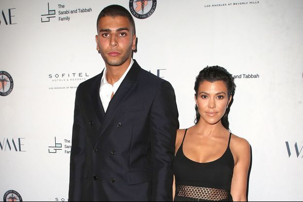Younes Bendjima et Kourtney Kardashian en 2018
