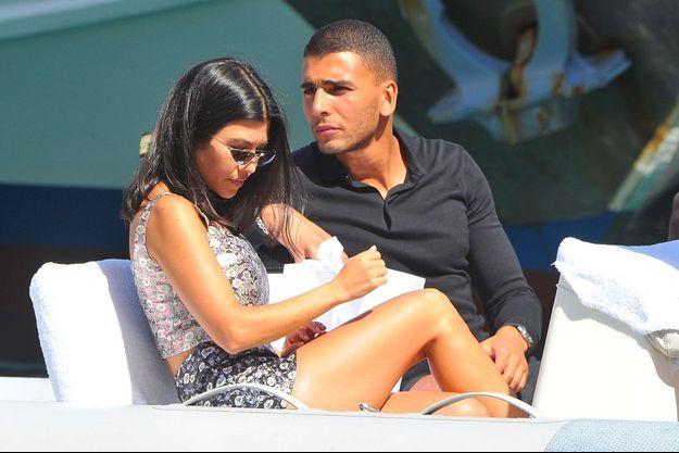 Kourtney Kardashian et Younes Bendjima en vacances à Portofino en Italie, le 2 juillet 2018